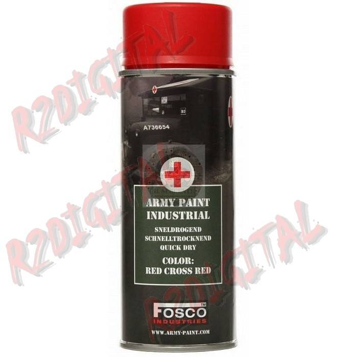 VERNICE ARMI FOSCO SPRAY RED CROSS 400ML PISTOLA
